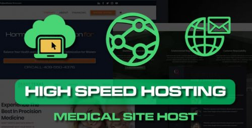 Product - Medical Website Hosting Pack